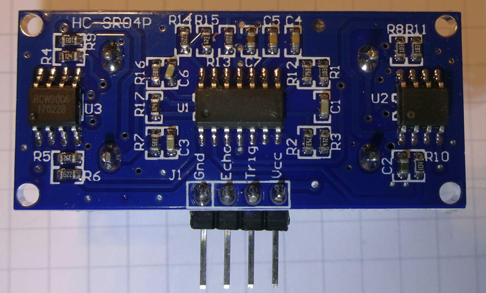 Ultraschall Entfernungsmesser Hc Sr04 : Arduino ultraschall abstandswarner mit dem multi function shield